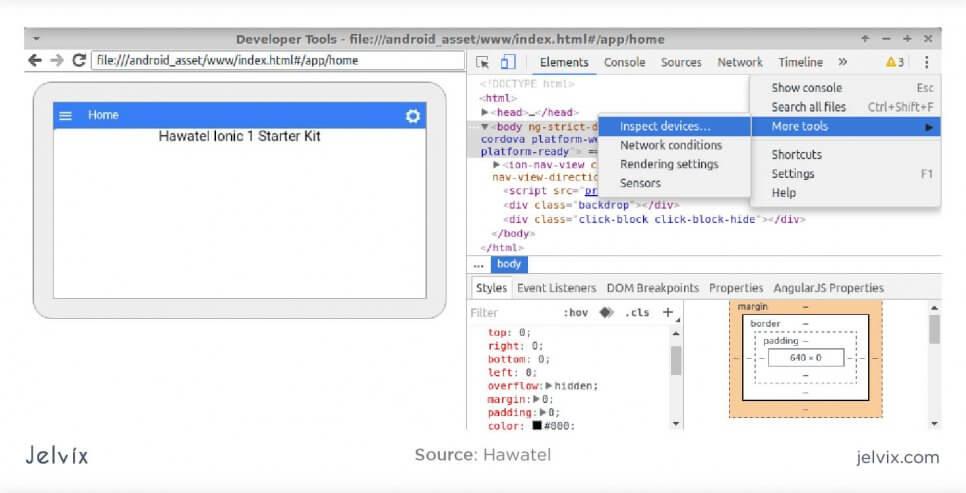 debugging screenshot