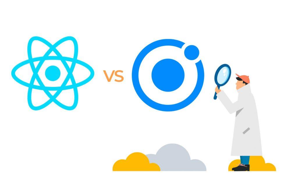 react vs ionic