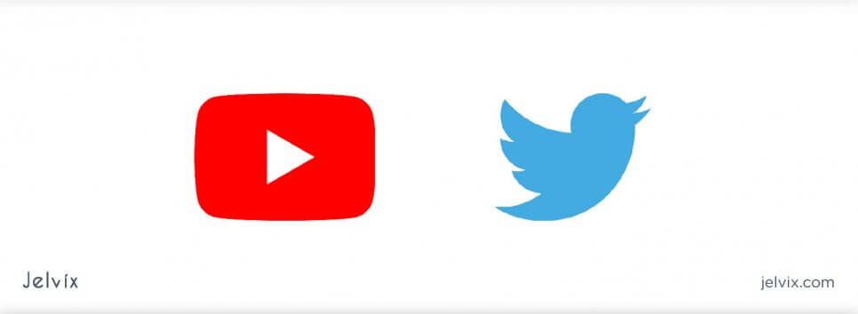 youtube and twitter