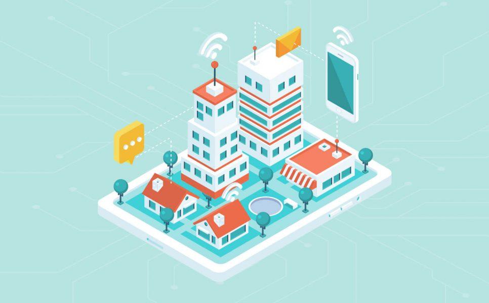 Real estate web app