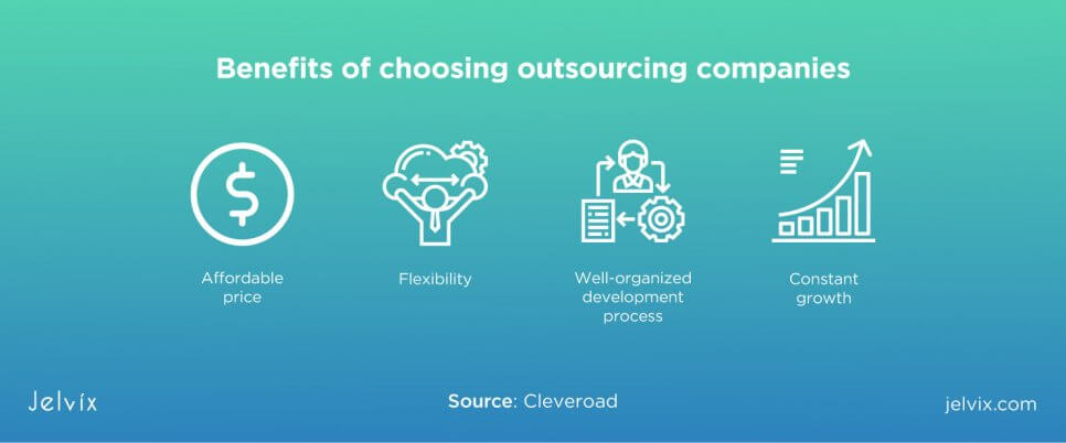 outsourcing companies pros