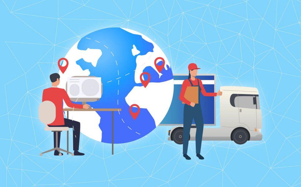 logistics blockchain