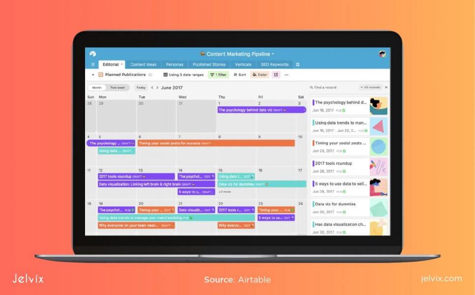 airtable screenshot
