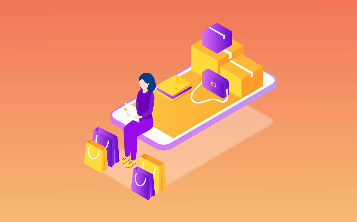 Custom retail app