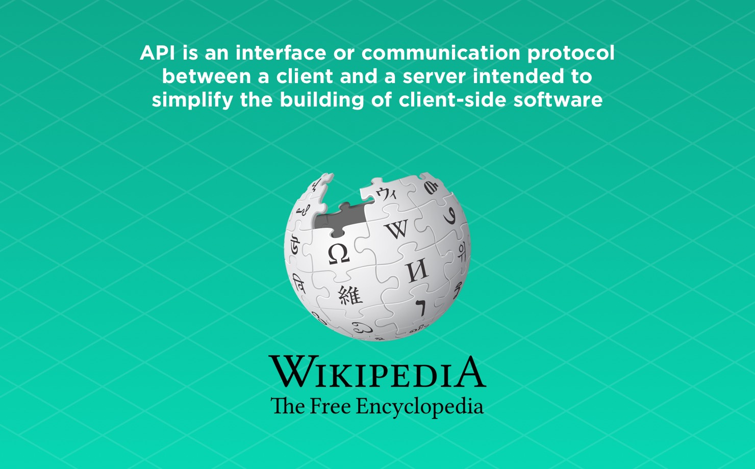API definition