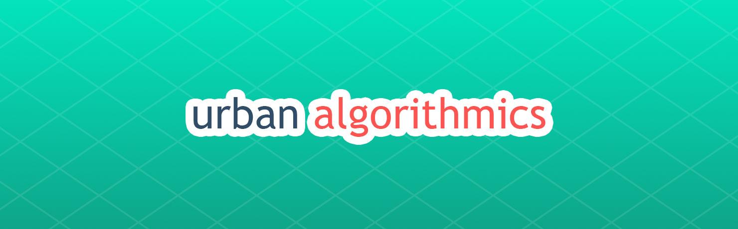Urban algorithmics