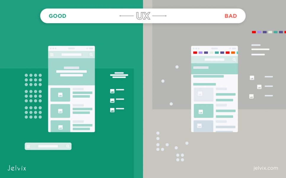 UX good vs bad