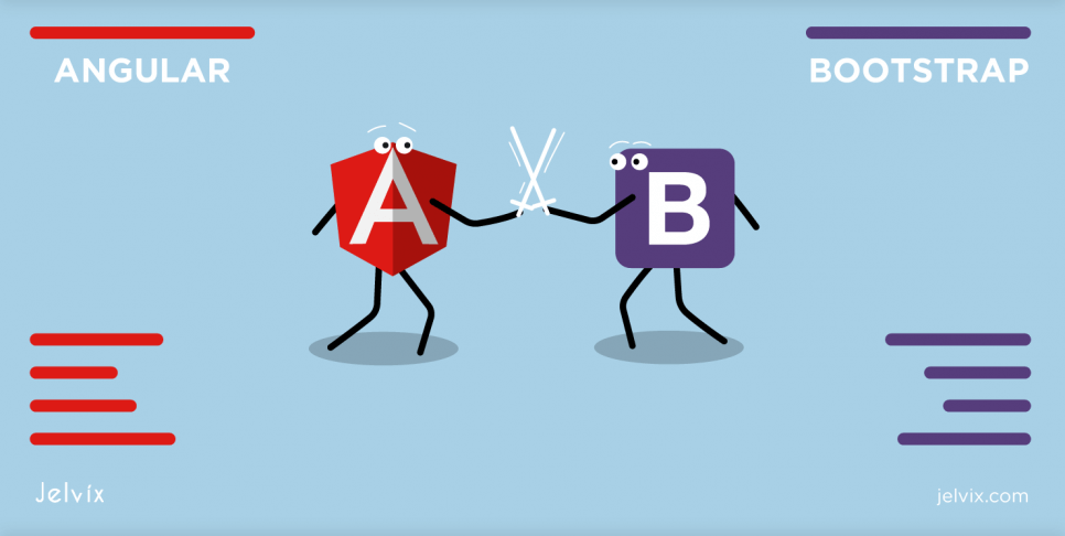 Bootstrap Vs Angular