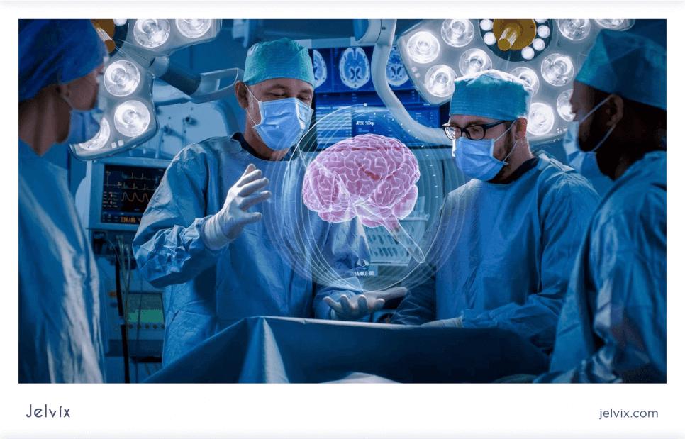 AR for medical training