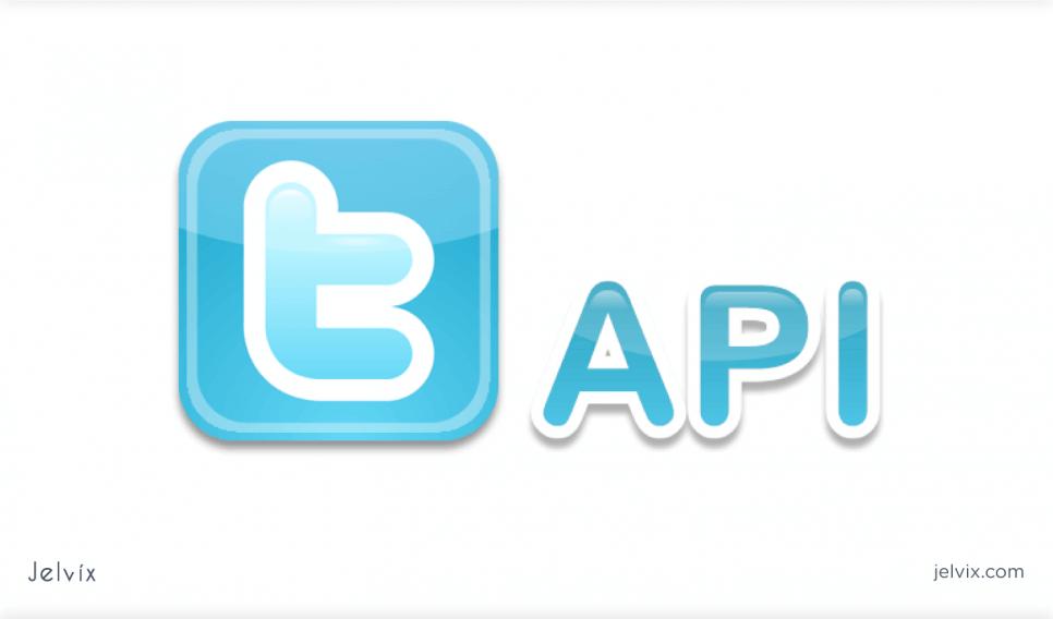 Twitter web API