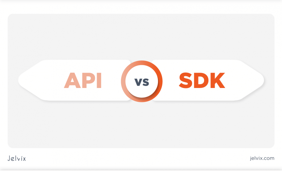 two concepts API and SDK