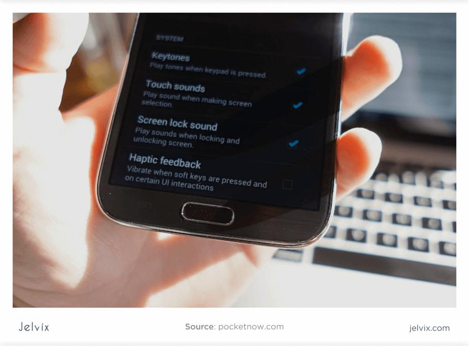 Haptic app